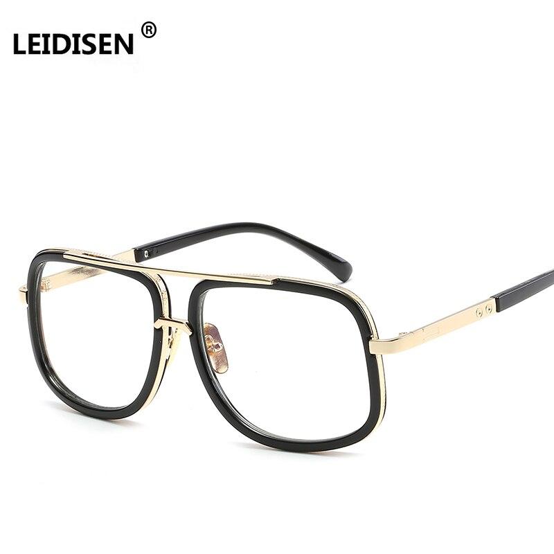 fe165866db4 LEIDISEN Women Eyeglasses Frames Classic Brand Designer Glasses Frame Men  Trendy Lunettes Vintage UV400-in Eyewear Frames from Men s Clothing    Accessories ...