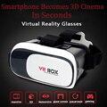 Гарнитура 3D Очки VR BOX Google Cardboard2.0 Модернизированный Отличное Качество + Беспроводная Связь Bluetooth Геймпад для 85-95 Градусов Зрения