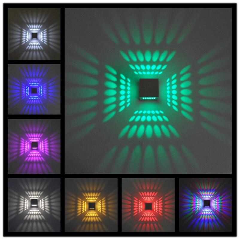 Lâmpadas de Parede 3 w multicolor decoração da Utilização : Emergência