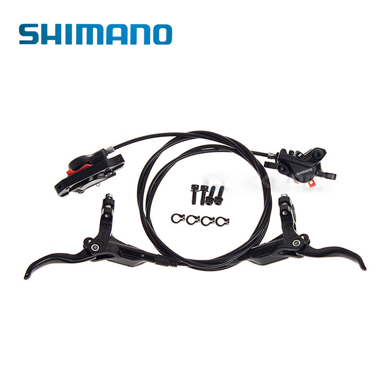 SHIMANO BR-BL-M395 Bicycle Hydraulic Brake Sets MTB Mountain Bike Calipers Left & Right Lever Black shimano slx bl m7000 m675 hydraulic disc brake lever left right brake caliper mtb bicycle parts