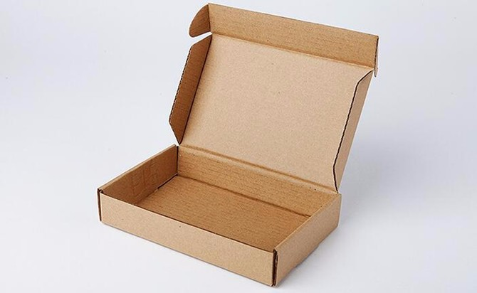 Wholesale 30*28*5cm 10pcs/lot Brown Kraft Paper Post Pack Box Storage Online Shopping Express Boxes Mailing Box