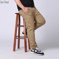 Deniz Bulut Ücretsiz nakliye erkekler düz pantolon erkek artı boyutu 28-48 ince uzun pantolon gevşek adam hiphop pantolon ekstra büyük hip hop