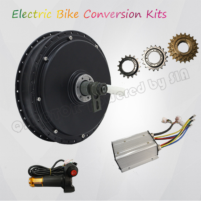 Winter Promotiom Qs Motor Electric Bicycle Kits 3000w Ful Hub Kit With Qskls7230s Controller