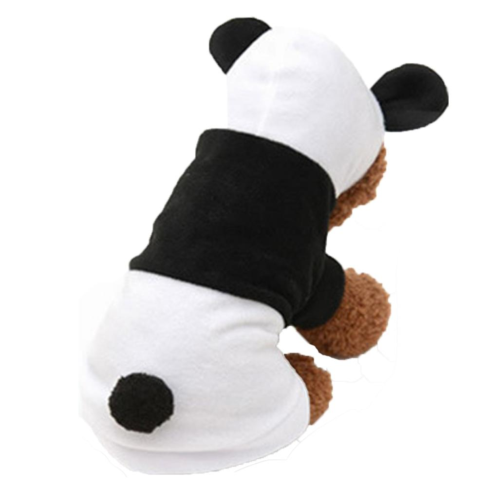 NACOCO Dog Panda Costume Christmas Winter Hoodie for Small Dogs Puppies Cats