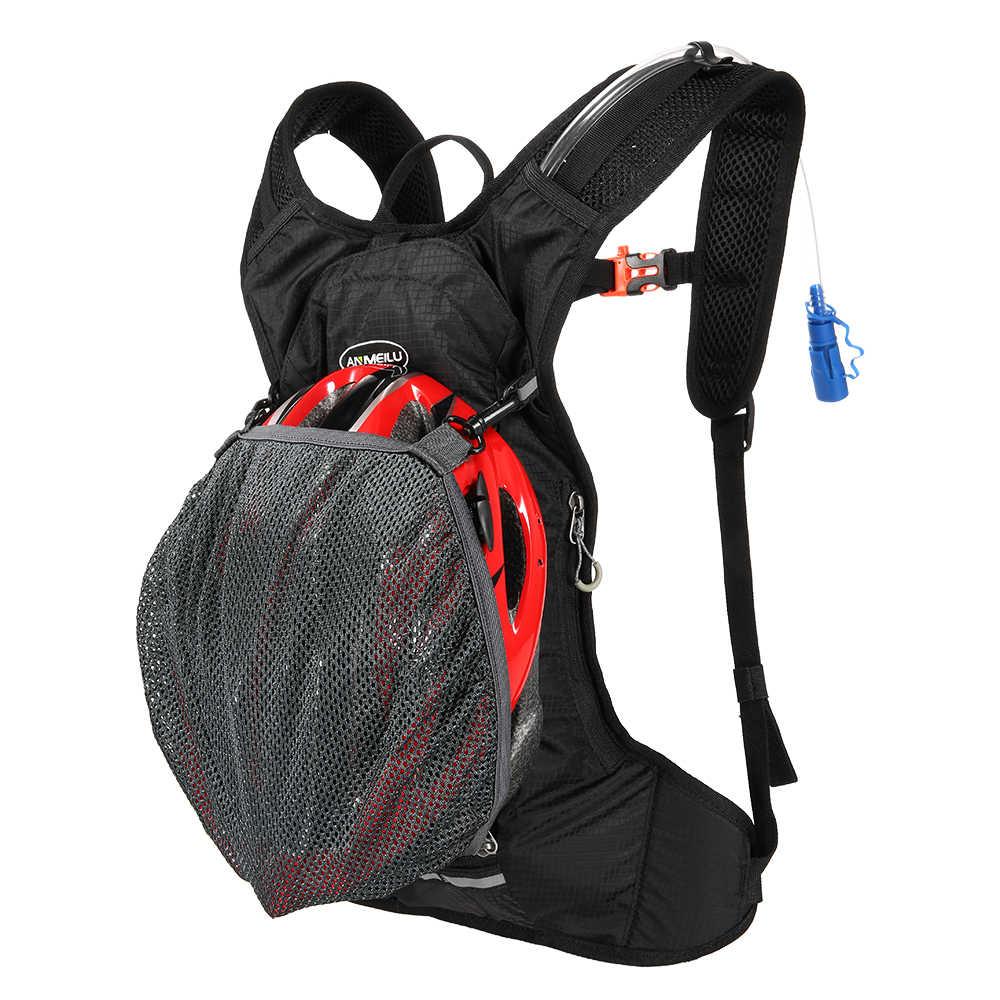 ANMEILU 3L nailon mochila de hidratación para ciclismo mochila ligera para hombres mujeres al aire libre senderismo correr Camping impermeable mochila