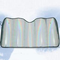Car Sun Shade Window Windshield Sunshade Covers Foldable Reflective Shades Cover Aluminum Foil Windscreen Sunshade UV