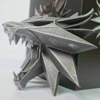 Волк подвесное настенное украшение Ведьмак 3: Дикая Охота Геральт ривии фигурки Фигурки ПВХ Модель Коллекция Gife