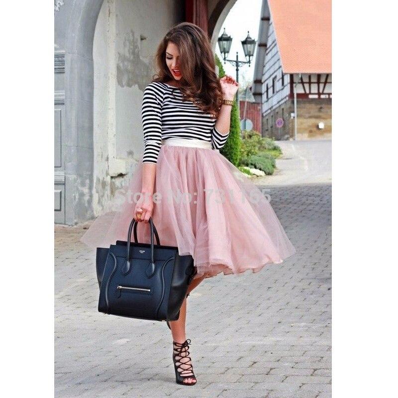 aliexpress buy pink tutu tulle skirts 4 layers