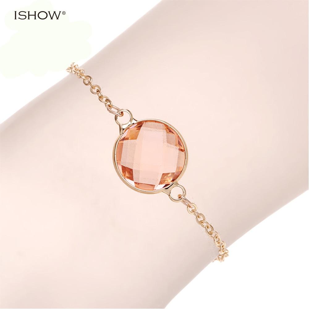 1064d0e2606 Corrente de ouro simples pulseira mulheres pulseiras pulseras bijoux homme  hombre amizade pulseiras de vidro beads charm bracelet femme