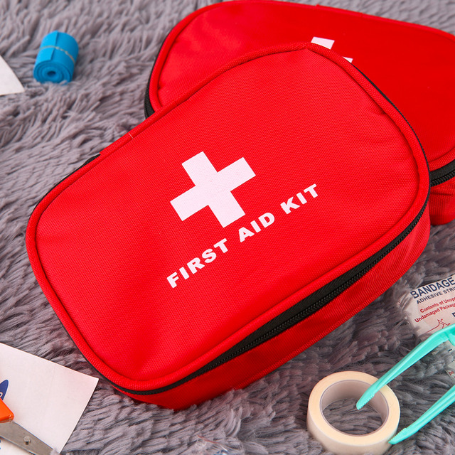 2016 Brand New High Quality  Outdoor Sports Travel Camping Home Medical Emergency Rescue First Aid Kit Bag