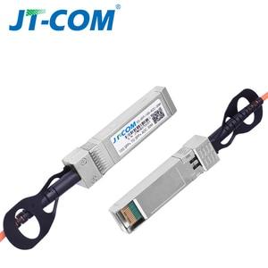 Image 4 - 1m/3m/5m/10m/30m SFP + 10Gb AOC SFP 모듈 10G 30 미터 액티브 광 케이블 Cisco 네트워크 스위치와 호환 무료 배송