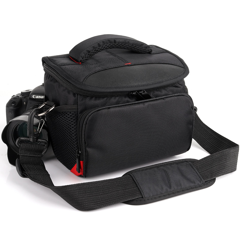 HUWANG Waterproof Camera Bag Case For Canon 750D 700D 800D 550D 600D 650D 760D SX400 SX410 EOS M100 M10 M5 M2 M50 Photo Backpack