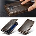 Casos de telefone originais para samsung galaxy s7/s7 edge fundas ímã auto flip carteira luxo couro genuíno case capa acessórios
