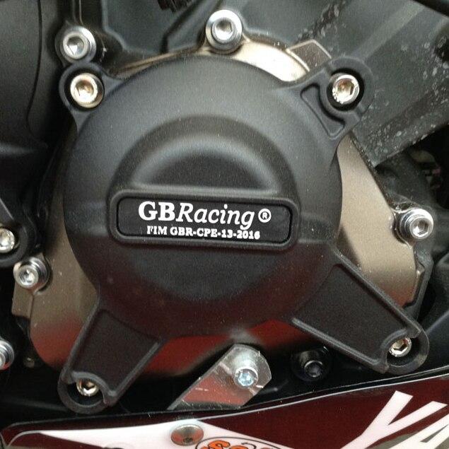 Motocicletas de la cubierta del motor de protección caso para el caso GB de carreras para YAMAHA MT09 FZ09 2014-2019 motor CoversProtectors - 4