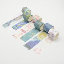 Travel Washi Tape Masking Tapes Scrapbooking Kawaii Decorative Scotch Cartoon Painting DIY Vintage La Casa De