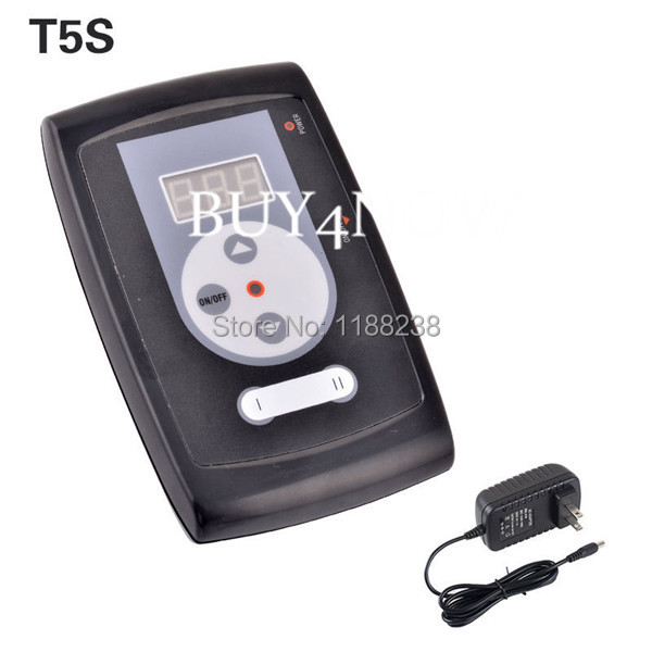 New Design Professional Permanent Makeup Machine Power Supply Digital LCD with Plug For Eyebrow Tattoo Machine Kit Free Shipping wm01 professional eyebrow tattooing machine kit