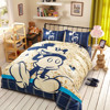 Cotton Mickey Minnie Mouse Bed Bedding Set Cartoon Comforter Duvet Cover Sets 3 4 5pcs Twin