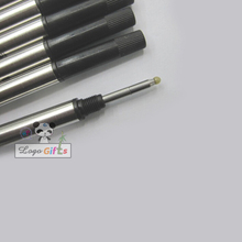 Wholesale ink Metal pen refill/ gel refill writes smoothly metal ball refills  11.3cm