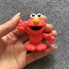 1Pcs sesame street elmo Plastic figure toy