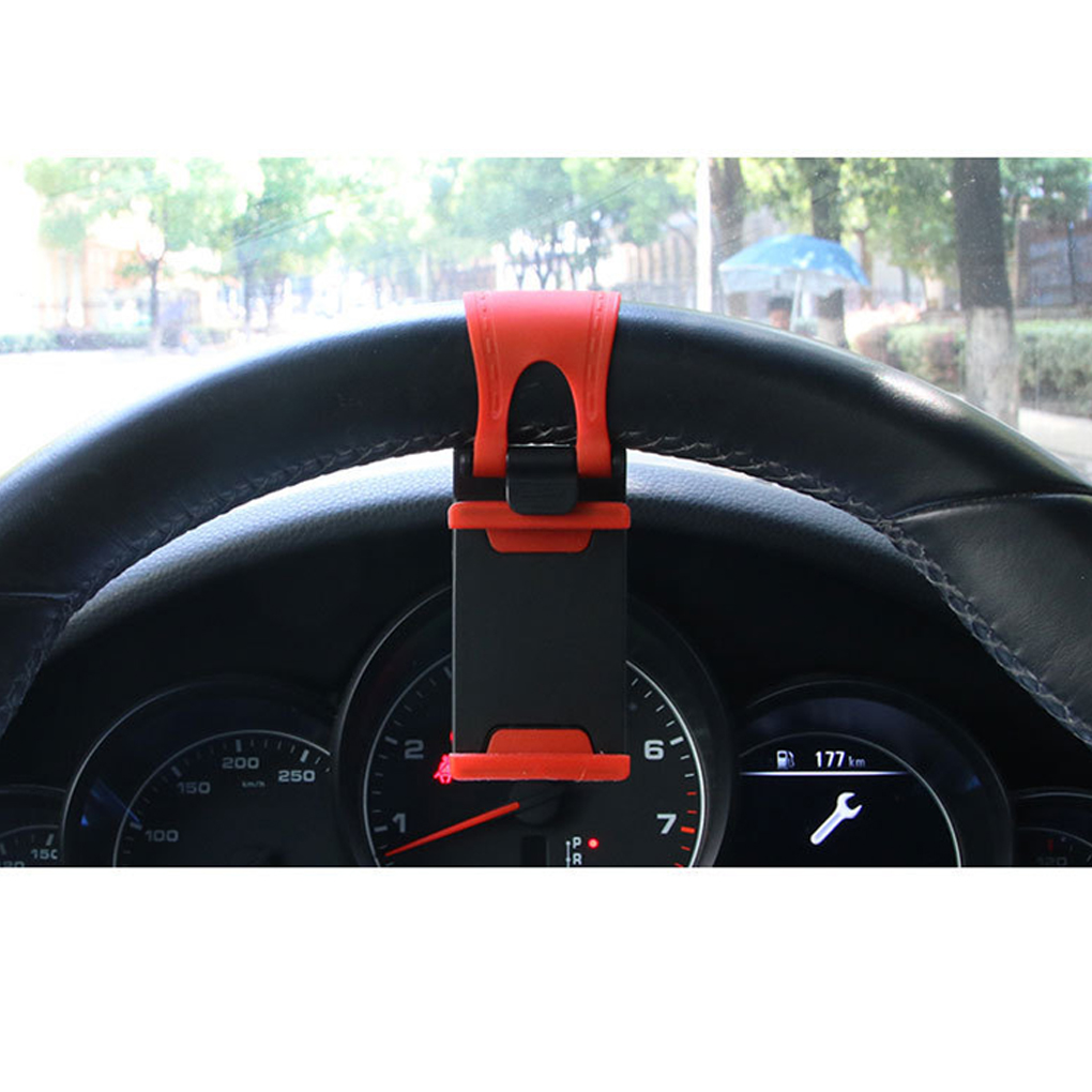 Universal Car Steering Wheel Clip Mount Holder For Samsung F