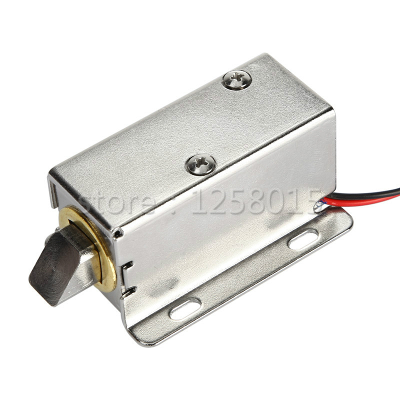 Free shipping quality Electronic door lock 12V small electric cabinet locks drawer lock electronic door lock