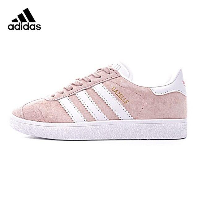 Adidas GAZELLE Trèfle Femmes de Chaussures de Marche, lumière Rose, Non-slip résistant
