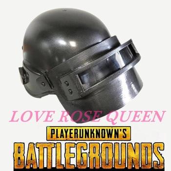 Game PUBG Playerunknown's Battlegrounds Cosplay Costume Mask Level 3 Helmet Armor Prop Chicken Dinner Men's Cap Halloween party