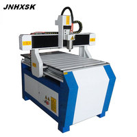 Low price 3 axis cnc router machine/cnc router 6090 600*900mm T slot +PVC board