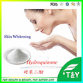 hot sale coametic Grade Hydroquinone(HQ) from China factory for skin whitening 300g/lot