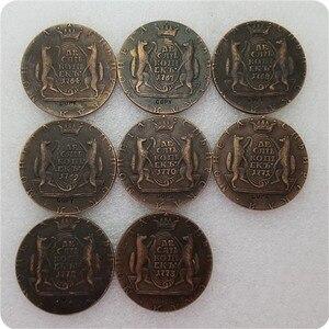 1764-1781 Россия, 10 копеек, копия памятных монет-копия монет, мебель