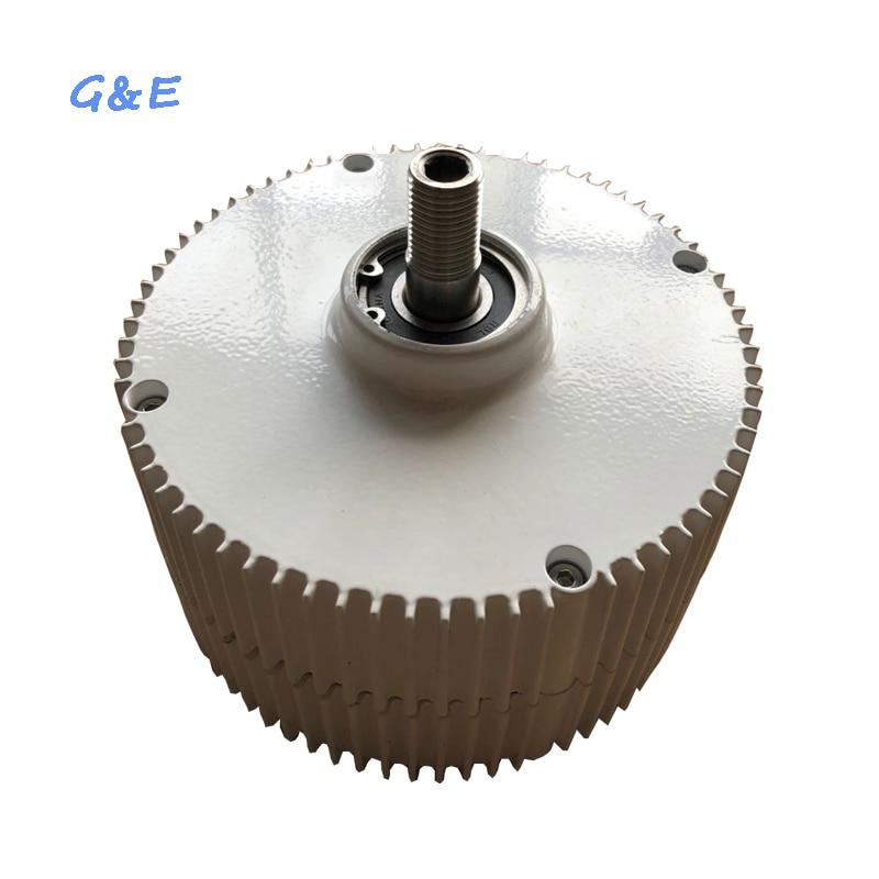 Three Phase Permanent Magnet Generator 300W 12V 24V 48V Alternator With DC Waterproof Controller