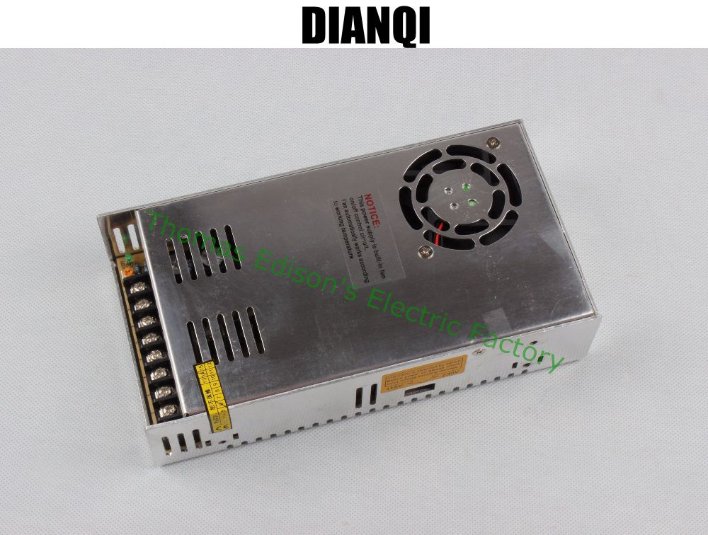 DIANQIled power supply switch 350W  24v  14.6A ac dc converter  S-350w  24v variable dc voltage regulator S-350-24 20pcs 350w 12v 29a power supply 12v 29a 350w ac dc 100 240v s 350 12 dc12v