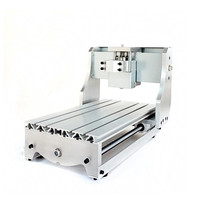 Free ship CNC 3020 DIY CNC Frame with ball screw, optical axis and bearings