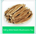 free shipping New ! 500 g Dried Wild Lingzhi Red Reishi Mushrooms Ganoderma Lucidum Slices Herbs
