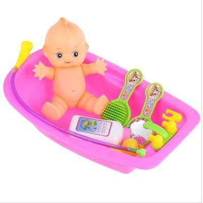 Baby Children Bath Water Toys Bathtub Cognitive Floating Toy Bathroom Game Play Set Early Educational Christmas Funny Gift