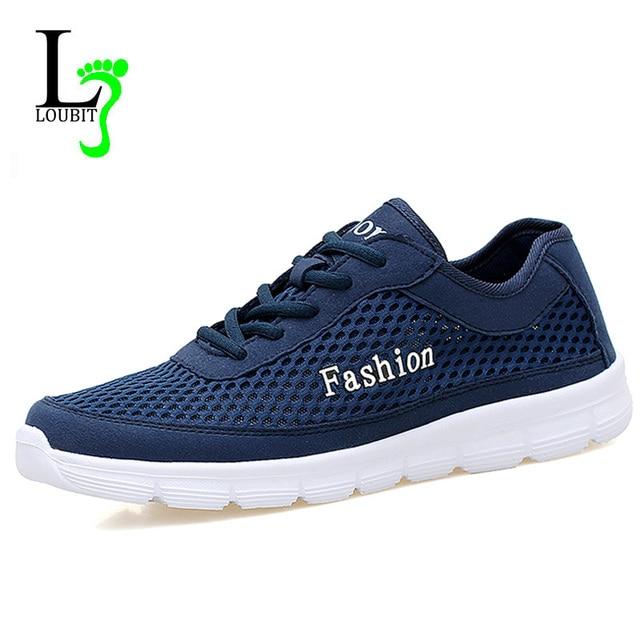 Zapatos Malla Transpirable Verano Hombres 2018 Sneakers Luz 6R4w06qdn