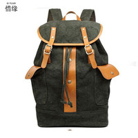 Fashion Vintage Backpack Women Men Youth School Bag Big Male Canvas Backpacks For Teenager Girls Feminine