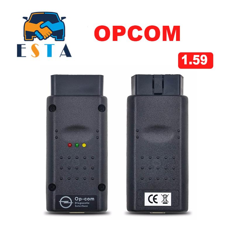 Prix pour 2017 Nouvelle Arrivée opcom OP com v2014.2 auto radiodiagnostique outil pour Opel op-com V1.59 avec PIC puce Haute Qualité livraison gratuite
