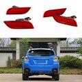 Lente vermelha LEVOU choques Refletor Traseiro da luz de Freio luz de advertência luz de nevoeiro para Subaru WRX Impreza XV LEVORG Crossover Exiga