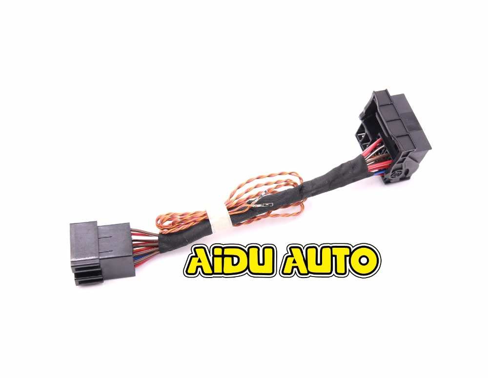 ISO To Quadlock Canbus Adapter CABLE RCD330 RCD510 RCD310 RNS510 Conversion Cable Polo Jetta Golf Tiguan