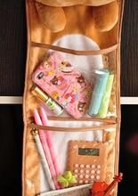 1pc Kawaii Plush Rilakkuma Long Hanging Storage Bag