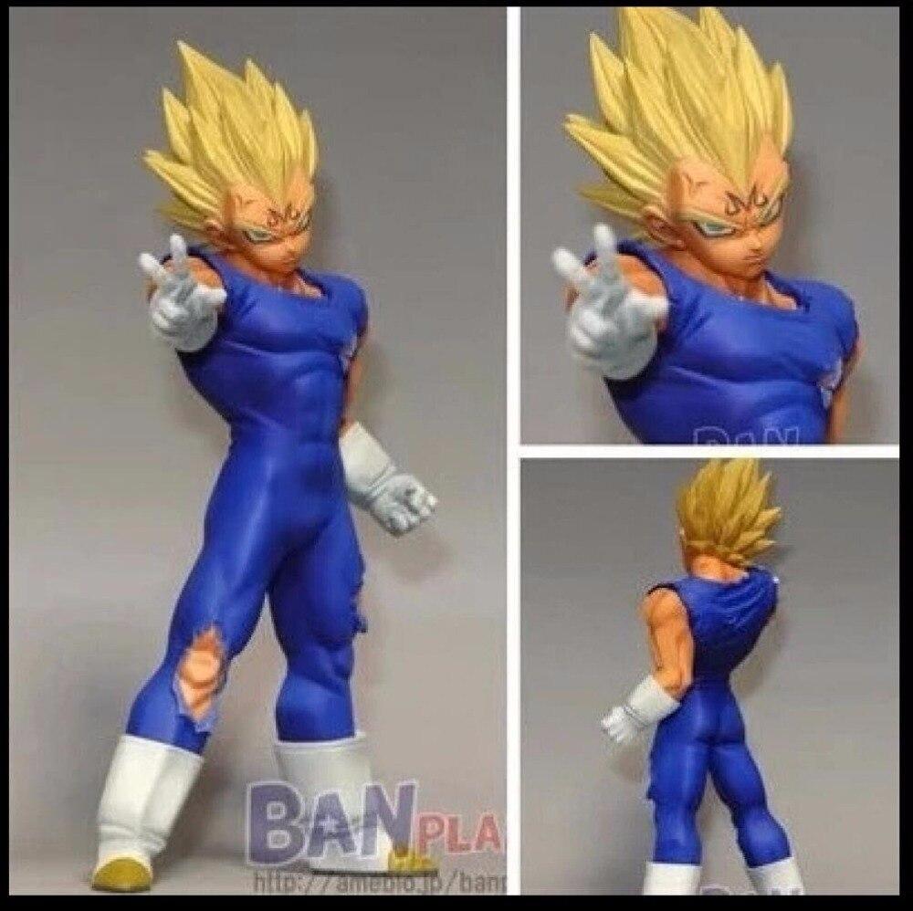 Banpresto DRAGONBALL Z DOKKAN BATTLE COLLAB Majin Vegeta Figure Figurine 14cm