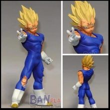 Banpresto Majin Vegeta Super Saiyan Dragon Ball Z DBZ Kai DXF Luta Combinação Vol. 1 Action Figure 14 cm(China)