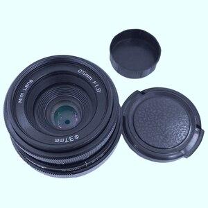 Image 5 - Newyi Mini 25Mm F1.8 aps c televizyon Tv Lens/Cctv Lens 16Mm C montaj kamera