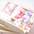 free ship 2lots(6pcs)cotton Panties Cute  Cartoon Print Cotton Panties fit  young Women/ baby Child Girls Sets with Gift Box