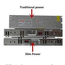 цена на Slim power 12 V 24 V to 2A 4A 8A 10A 14A 16A 20A 29A transformator power supply Switching Power,for 5050 3528 WS2812B strip
