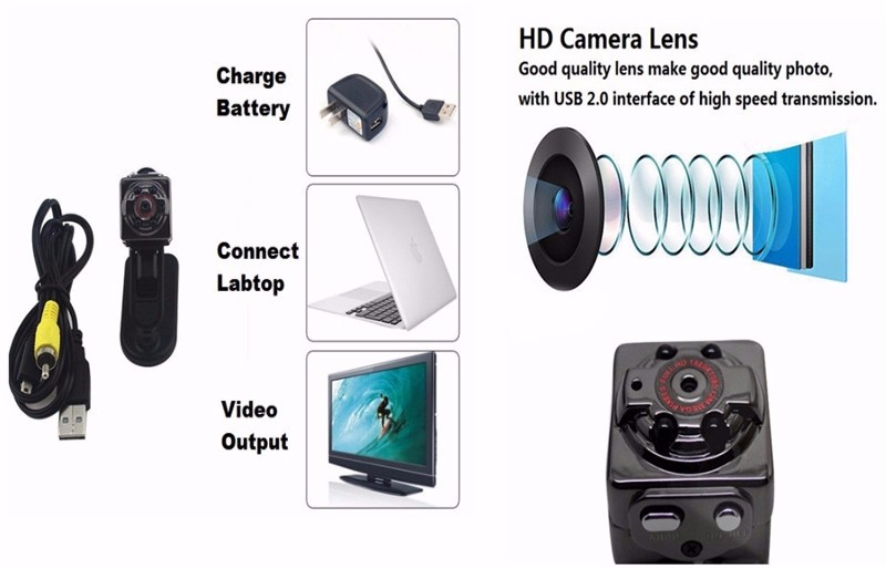 Sport Action Mini Camera HD 1080P 720P SQ8 Camera Recorder Kamera DV Video Recorder Infrared Night Vision Digital Usb Cameras  (8)