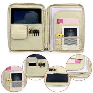 Image 3 - מיני רוכסן A4 קובץ מחזיק Kawaii עלים עלה מסמכים ארגונית תיק הגשת בעל משרד ספר תיקיית Ipad אחסון מקרה