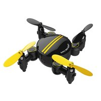 Sh1 Mini Drone Folding Small Four Axis 2 Million HD Camera Drone With Remote Control Wifi Version RC Drone