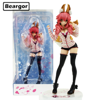 10 inch Fate Stay Night Extella CCC Tamamo no Mae Caster Casual Wear Boxed 25cm PVC Anime Action Figure Model Doll Toys Gift
